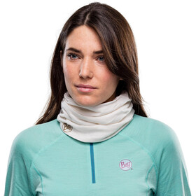 Buff Lightweight Merino Wool Loop Sjaal, solid snow